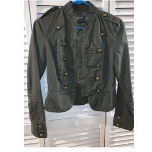 Green Military Styled Jacket